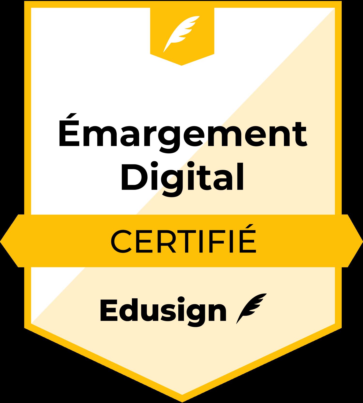 Feuille émargement digitale certifiée
